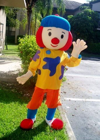 JoJo the Clown Mascot Character