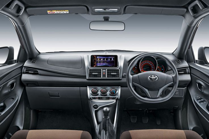Toyota All New Yaris Type E Interior 2