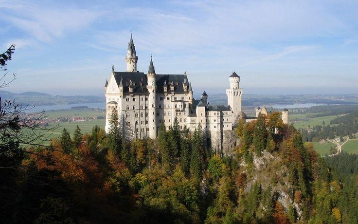 germany, замок нойшванштайн, neuschwanstein castle