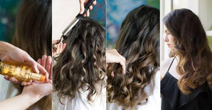 Cum obţii bucle lejere, naturale, fără efort şi fără să-ţi deteriorezi părul? Nimic mai simplu! Aplică 1-2 picături de ulei Kerastase Elixir Ultime pe lungimea şi vârfurile părului pentru a-l menţine protejat şi hidratat, împarte părul în câteva secţiuni, iar apoi, folosind placa de îndreptat, ondulează fiecare secţiune începând de la 5-7cm de rădăcină, în funcţie de lungimea părului. La final, trece-ţi degetele prin bucle pentru a le desface sau foloseşte o perie moale. You're ready to go!