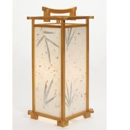 Bamboo Leaf Table Lamp