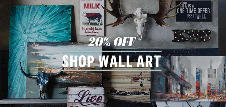 Wall Art - Wall Décor - Urban Barn