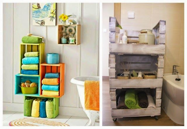 Imagenes de ba os decorados con vanitoris hechos caseros - Muebles decorados a mano ...