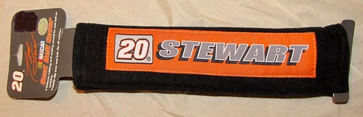 """Vintage Nascar Collectible Tony Stewart Seatbelt Strap Home Depot 20 NEW 10.5"""" Available in my EBay Store at the link below:"""