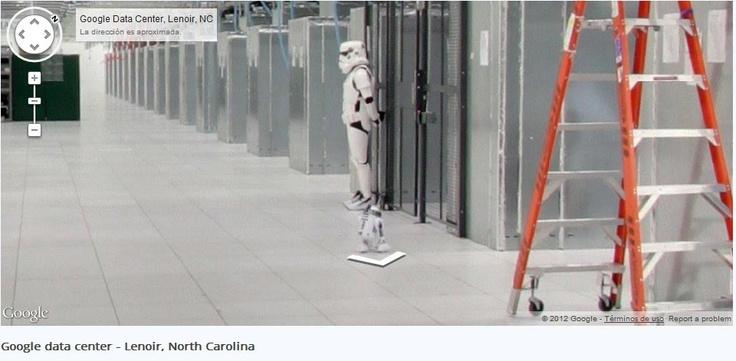 ¿Estarán seguros los datos de los...?  ¿Siths?, ¿Jedis?, por los menos los datos de las búsquedas si lo están