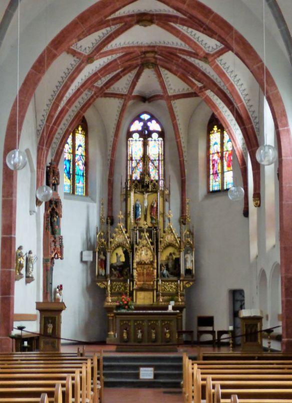 in der Kirche von Monreal, Foto: S. Hopp