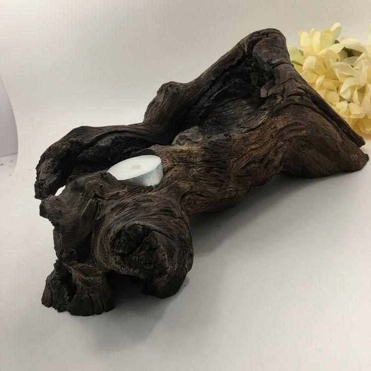 Best wood candle holders ideas on pinterest log
