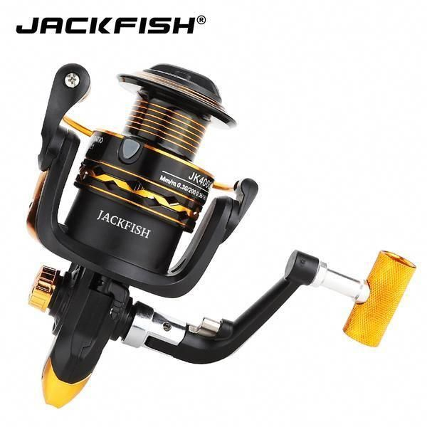 Metal Handle Fishing Reel 12bb 1000 7000 Series Jackfish Store