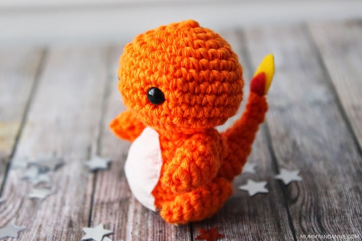 Amigurumi Charmander Pattern : 486 best images about Pokeman?a @_@ on Pinterest Perler ...