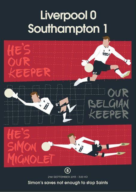 Artista vai retratar a temporada do Liverpool em postais - Futebol Marketing