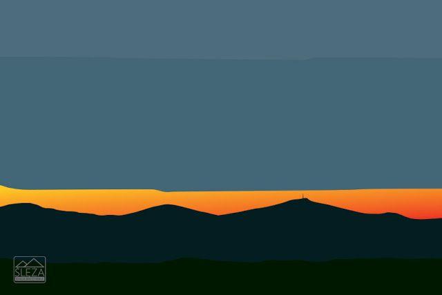 One-Hundred Views of Mount Silentii (Ślęża)