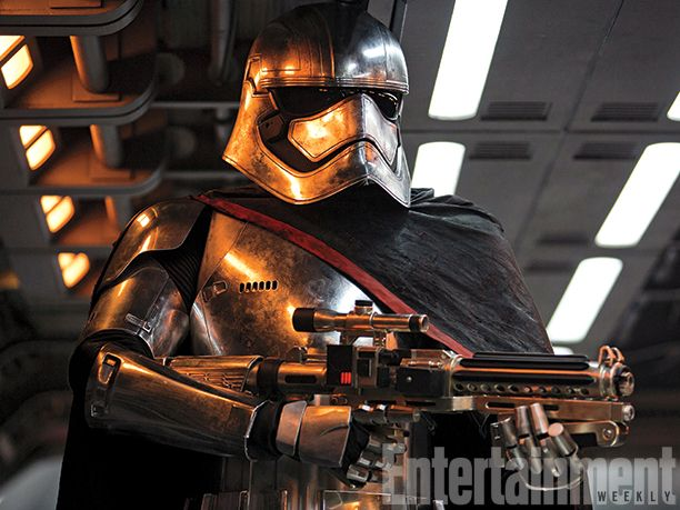 Inside this shimmering armor is a warrior for The First Order, Captain Phasma (played by Gwendoline Christie of Game of Thrones). Her character's name has an unexpected origin... #StarWars #TheForceAwakens