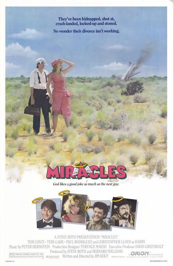 Miracles (1986) with Teri Garr and Tom Conti.