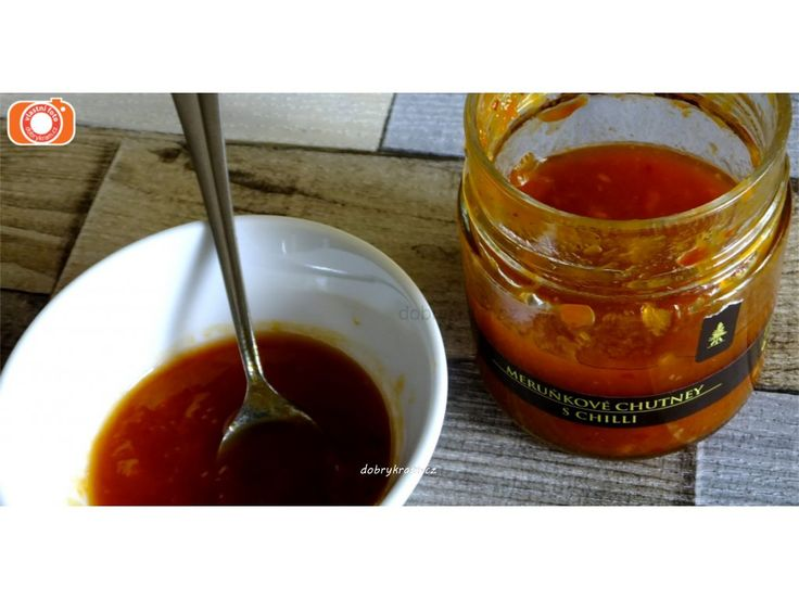 Meruňky s chilli papričkou jsou k masu a sýrům ...