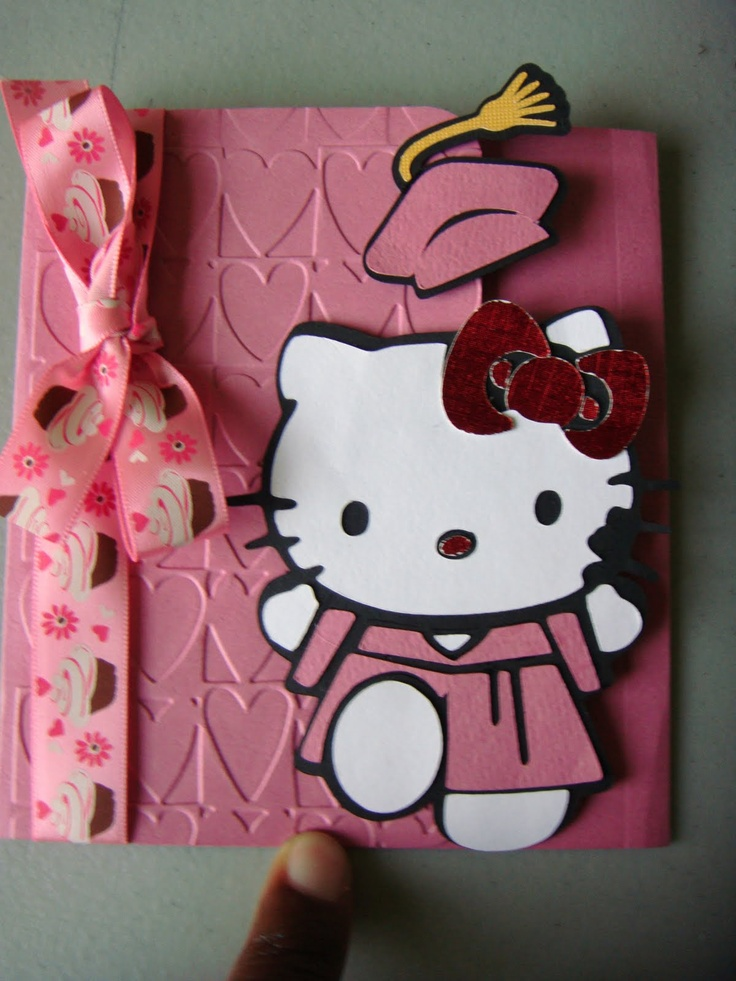 117 Best Card Hello Kitty Images On Pinterest Cricut
