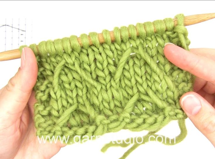 DROPS Knitting Tutorial: How to work after chart M.1 in DROPS 130-11