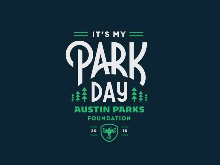 Had the privilege of designing this years shirt for the Austin Parks Foundation. The event is called It's My Park Day and you guessed it, it's all about PARKS!  More information about the event her...