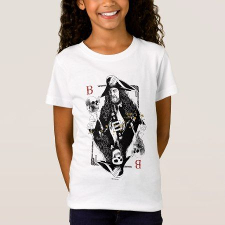 Hector Barbossa - Ruler Of The Seas T-Shirt - click to get yours right now!