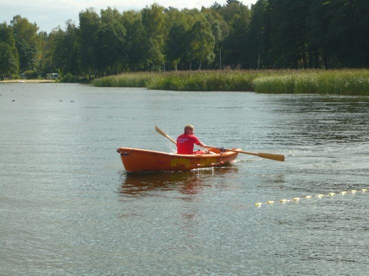 Zawody w ratownictwie wodnym - Sława 2010