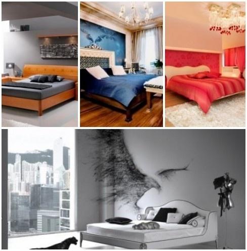 Мужские спальни – магия мужчин