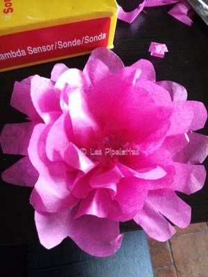 pimper vos cadeaux! #fleurs cadeaux carton papier soie