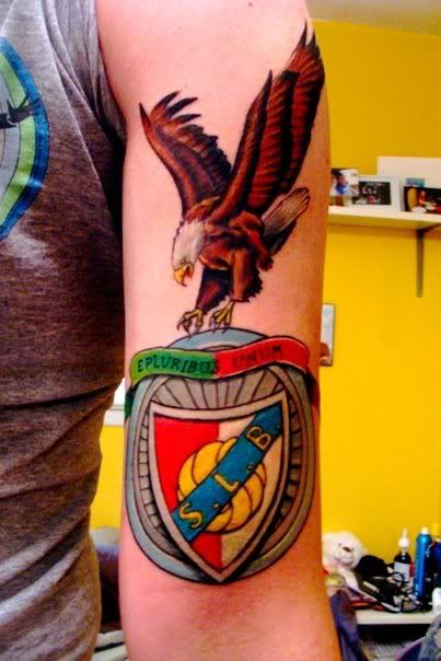 tattoos benfica- This is actually sick.