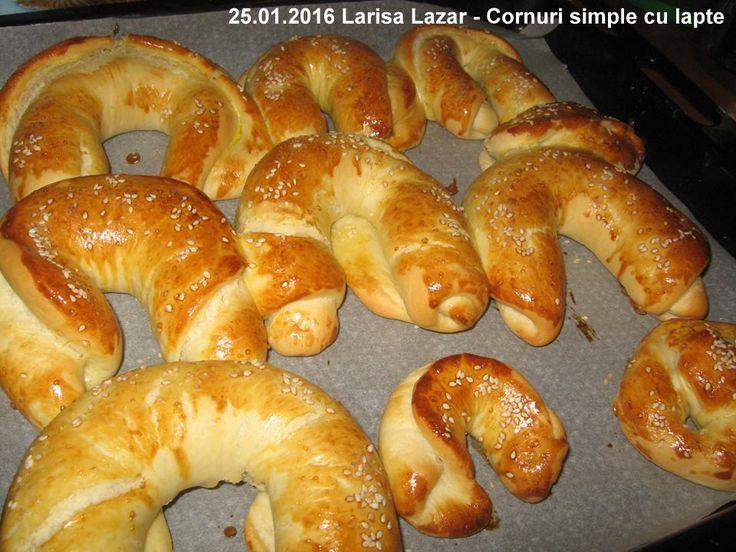 25.01.2016 Larisa Lazar - Cornuri simple cu lapte