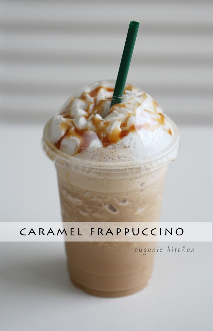How to Make Starbucks Caramel Frappuccino at Home - Copycat recipe