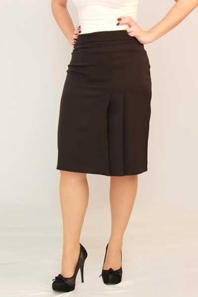 Modelos de Saias Secretária Cintura Alta, Jeans e Social