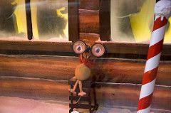 Rudolph The Red Nose Reindeer (Silver Spot) Tags: christmas australia nsw davidjones christmaswindows rudolphtherednosedreindeer file:name=200512dsc2015