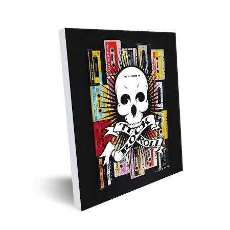 Tableau photo 50×50 Rock'n roll par Artmosphere Publishing