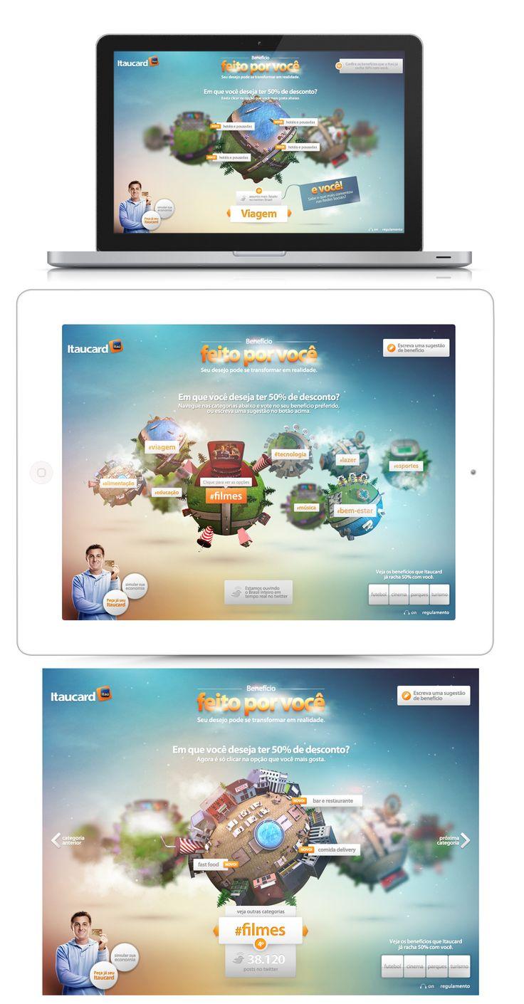 Itaucard Hotsite - 2011 - by gringo.nu
