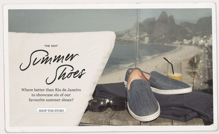 Summer Shoes | The Edit | The Journal | MR PORTER