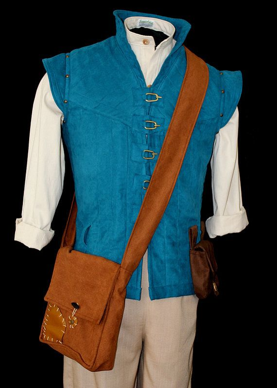 Adult Flynn Rider Vest Costume Custom Made via Etsy.  Somebody tell my future husband to surprise with wearing this someday.
