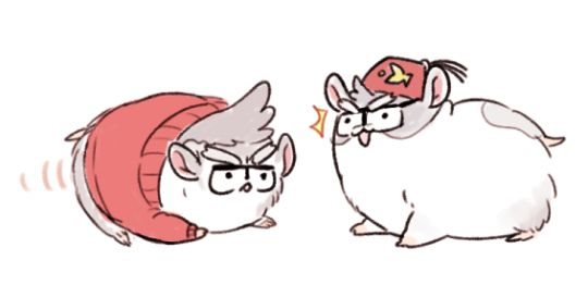 The Stan twins as guinea pigs