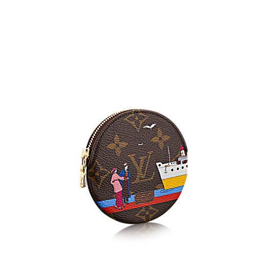 Porte-monnaie Round Toile Monogram - Petite maroquinerie | LOUIS VUITTON