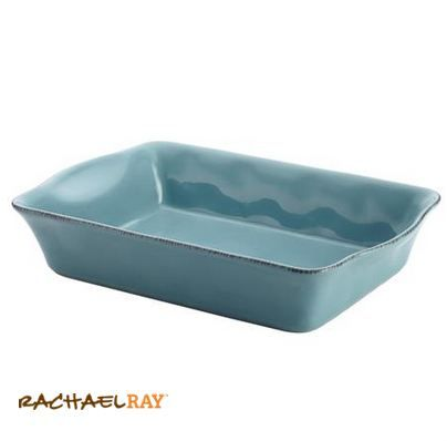 "Rachael Ray Cucina Stoneware 9"" x 13"" Rectangular Baker #giveaway"