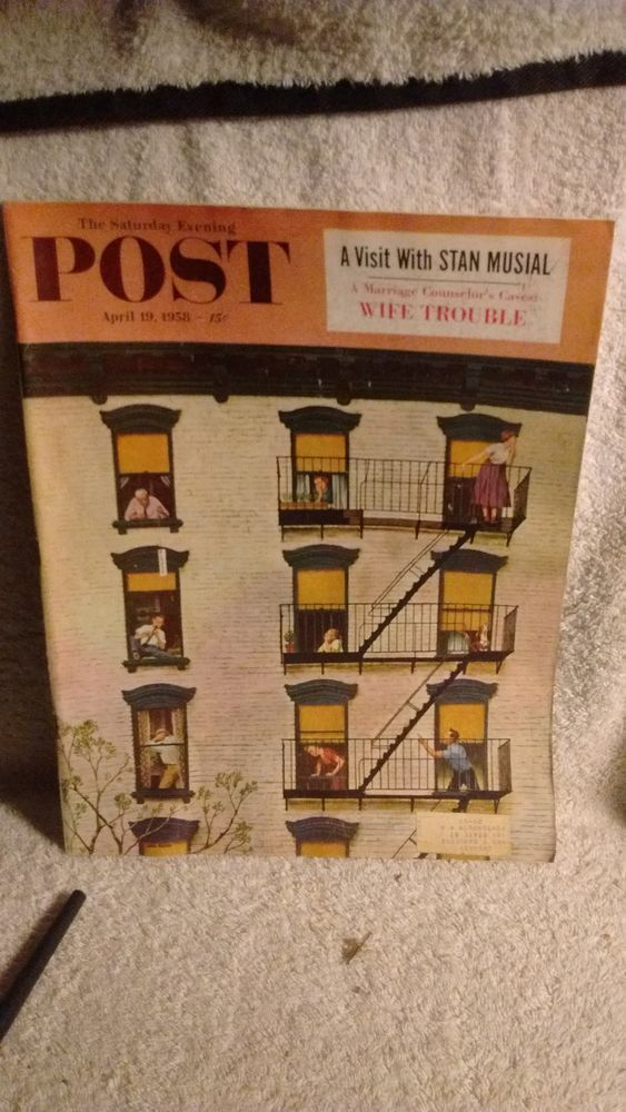 The Saturday Evening Post April 19 1958  #TheSaturdayEveningPost