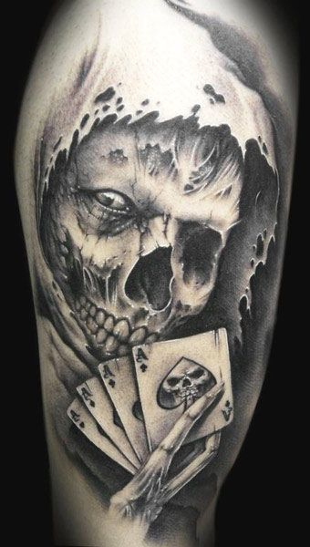 Tattoo Artist - Demon Tattoo - Skull tattoo