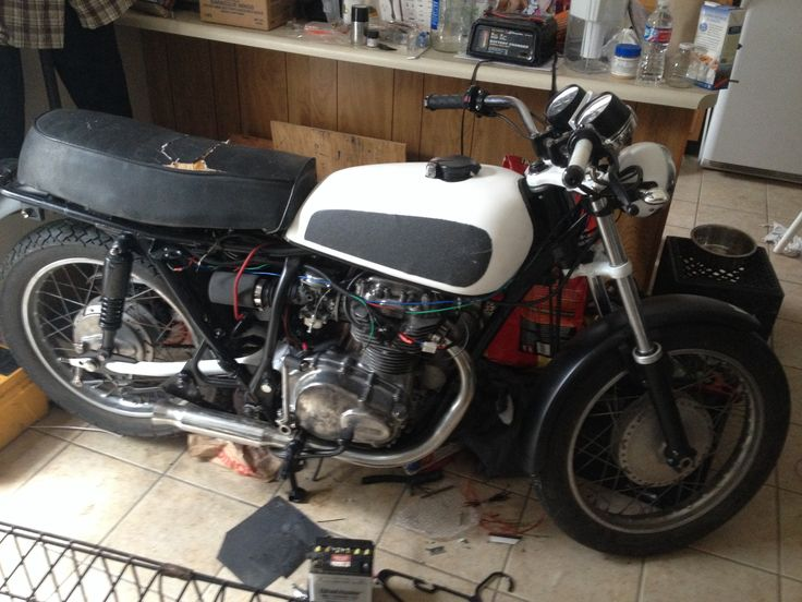 almost finished, honda cb360