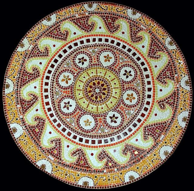 Ceramic Mosaic by Monique Sarfity aka femmetoile, via Flickr