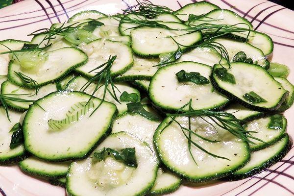 Cuketový salát II.