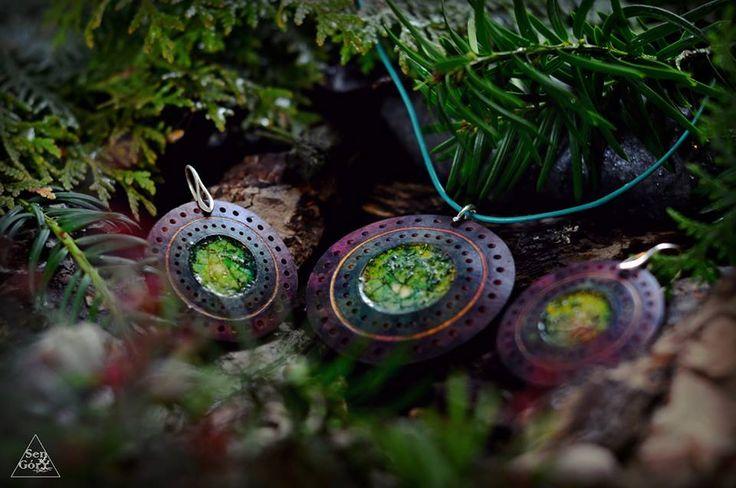 Forest jewellery by Sen Góry http://www.facebook.com/SenGory