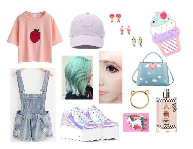 """"""":3"""" by lady-yoko-phantomhive on Polyvore featuring Y.R.U., Vans e Bling Jewelry"""
