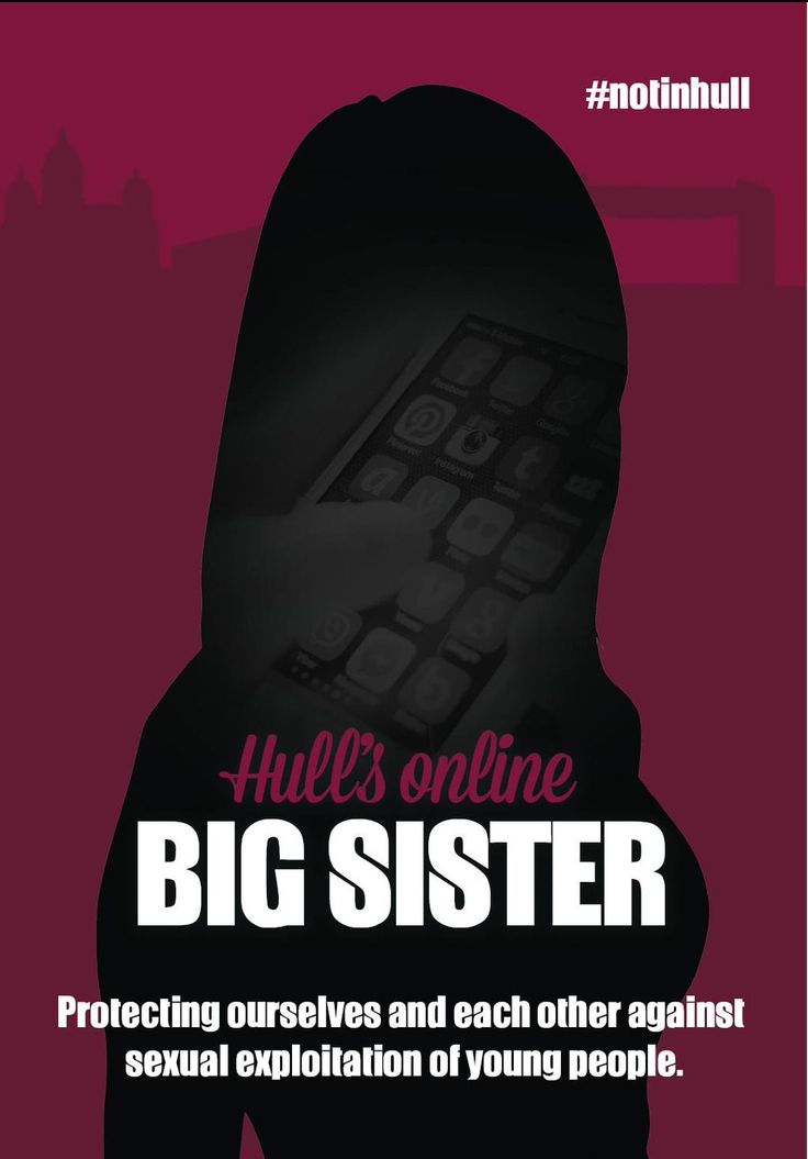 Hull's online big sister. Anonymous chat function on our website to help people come forward for advice.