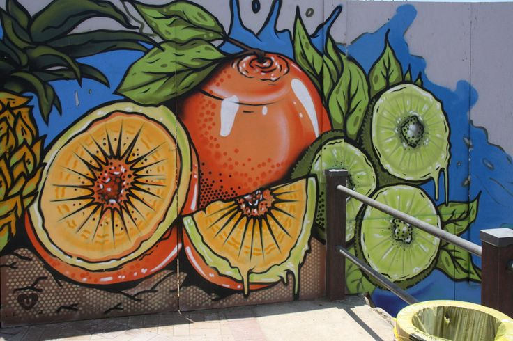 Summer in uMhlanga. Graffiti by the lads from @urbanloveza