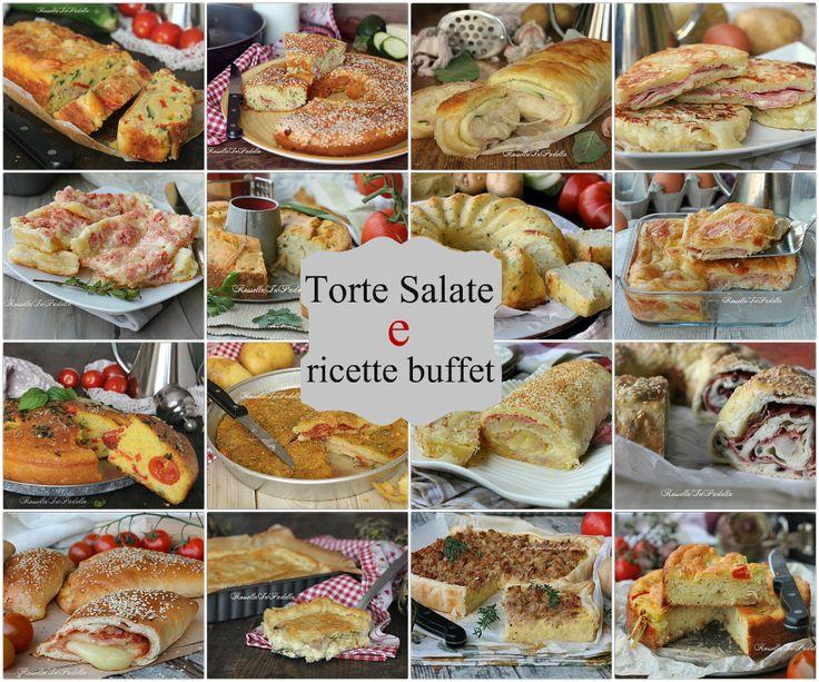 Torte salate per gite, pic-nic o buffet. Ricette facili