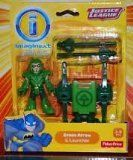 Imaginext DC Comics Justice League Green Arrow Figure and Launcher 3 Inches ** Find out more about the great product at the image link.