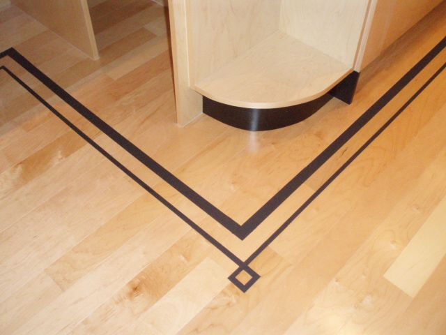 13 best images about painted borders for floors on for Floor tiles border design