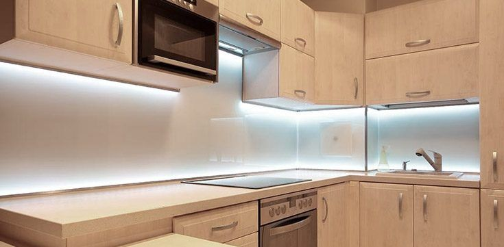 Led Under Cabinet Lighting Home Interior Design Ideas Kitchen
